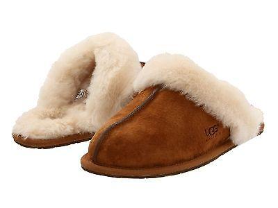 Women's Shoes UGG Scuffette II Slippers 5661 Chestnut 5 6 7 8 9 10 *New*