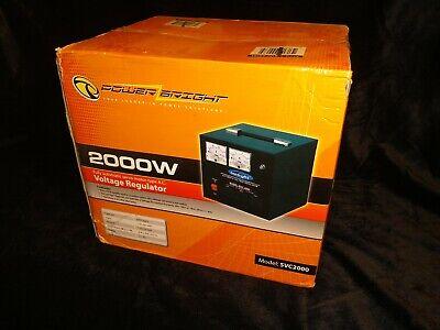 Powerbright Svc-2000 Automatic Voltage Regulator