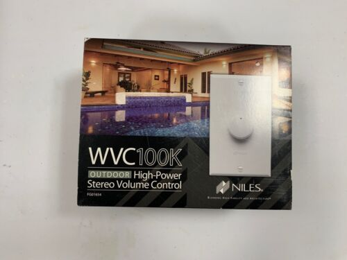 Niles Outdoor In-Wall High-Power Stereo Volume Controller White/Light Almond/Bone/Black WVC100K