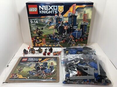 LEGO 70317 Nexo Knights -The Fortex- Complete w/ Box/Instructions Retired
