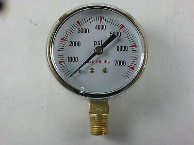 New Victor 2 12 7000 Psi High Pressure Regulator Gauge Cga 677680 Cylinder