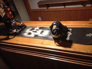 Men's Snowboard and bindings