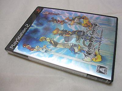 7-14 Days to USA. USED English Voice PS2 Kingdom Hearts II 2 Final Mix Japanese