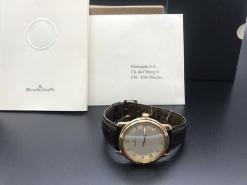 Wristwatch blancpain Villeret Ultra Slim Limited Edition 333 (reserved 4500$) - watch picture 1