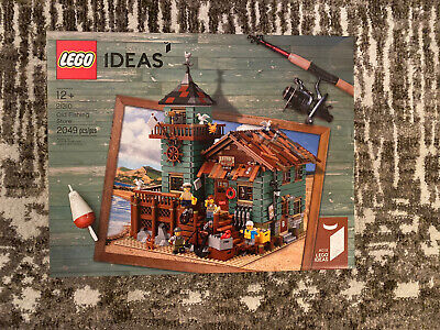 LEGO 21310 Old Fishing Store - 2017 Ideas - Brand New In Box - Retired