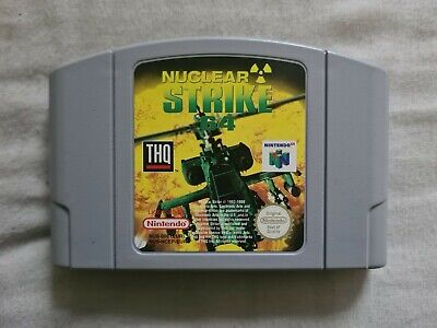 NUCLEAR STRIKE Nintendo 64 N64 Game PAL VERSION (2)