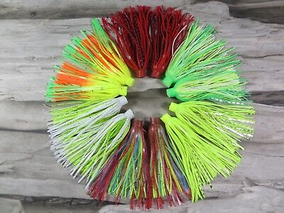 (12 - TERMINATOR QUICK CHANGE REPLACEMENT FISHING SKIRTS - SPINNERBAIT - JIGS )