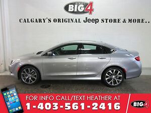 2016 Chrysler 200 C, DEMO, Panoroof, Heated Seats, Low KMS