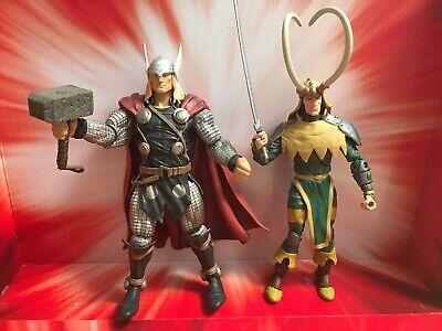 marvel legends toybiz loki And Marvel Select Thor Lot Loose No Cape