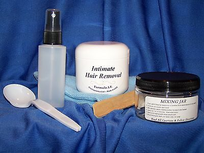 INTIMATE/PUBIC HAIR REMOVAL Powder Kit**PAINLESS -- FOR MEN &