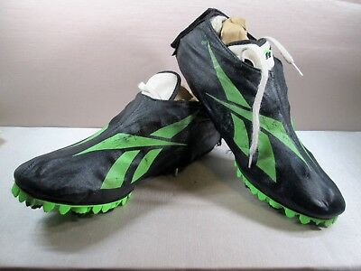 VINTAGE 70'S 80'S REEBOK TRACK RUNNING SPIKES SHOES WHITE MEN'S Size US 10.5