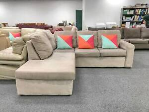 DELIVERY TODAY QUALITY MODERN L shaped corner sofa lounge SALE
