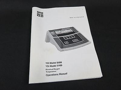 Ysi Incorporated Ysi Model 5000 Ysi 5001 Dissolved Oxygen Temperature Meter