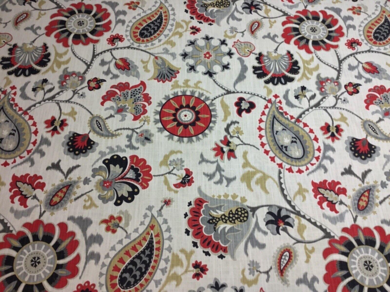"Waverly Siren Song Graphite Home Decor Drapery Fabric 8"" x 8"