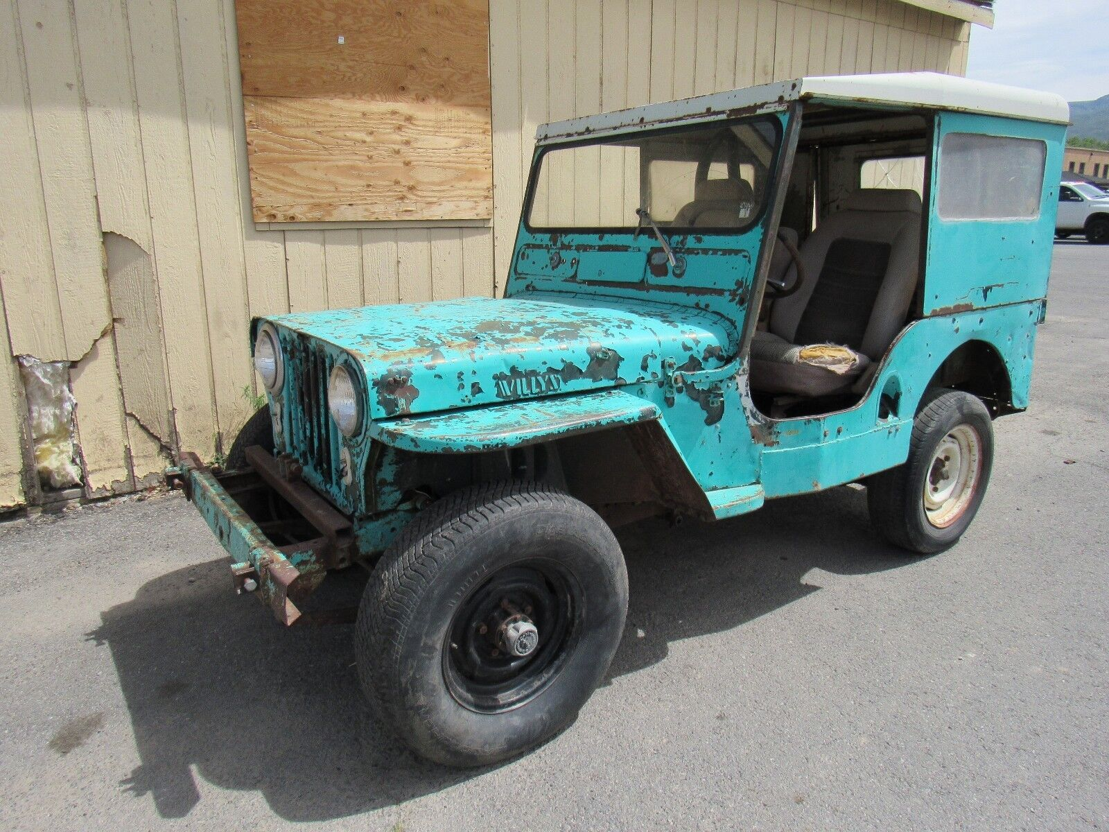 1950 Willys Jeep  1950 Willis Jeep. RUNS AND DRIVES NO RESERVE!!!
