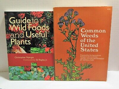 LOT Edible WILD FOODS USEFUL PLANTS And COMMON WEEDS OF US Homesteading Identity