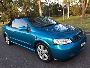 2004 Holden Astra TS Convertible Automatic Blue Moorebank Liverpool Area Preview