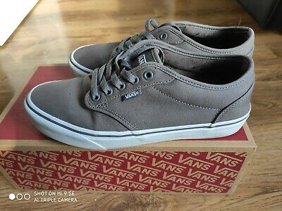Vans Men's Atwood Canvas Low-Top Sneakers UK Size 7.5