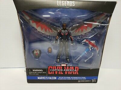Marvel Legends Civil War Falcon 3.75 Action Figure Hasbro