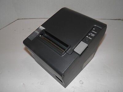 Epson M129h Tm-t88iv Thermal Pos Receipt Printer Usb Printer W Power Supply