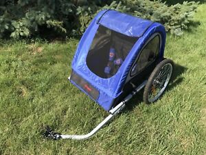 Schwinn double rider bike trailer great condition