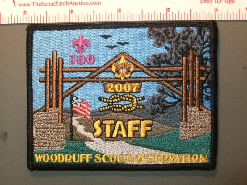 Boy Scout Woodruff Reservation Atlanta Area Council 7818II