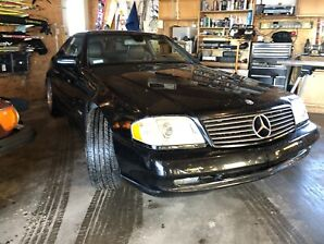 97 Mercedes Benz SL 600 convertible V12