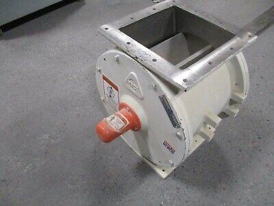 Kice Rotary Valve Airlock Vj14x10x10 Size 14 X 10 X 10 New Surplus