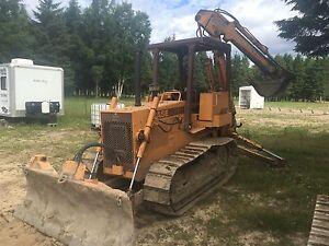 Tracteur(bulldozeur) case 450c