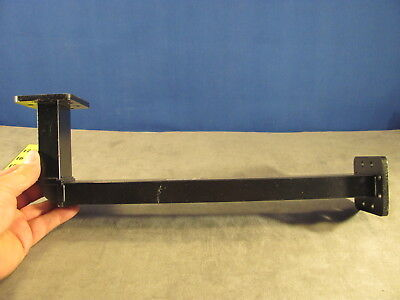 Waveguide Wr159 C-band Cast E-bend A4.00xb13.75 Cprg Both Ends189