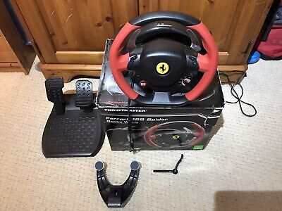 Thrustmaster Ferrari 458 Spider Wheel And Pedals Set
