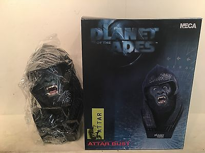 NEW PLANT OF THE APES- ATTAR BUST - TOWER RECORDS EXCLUSIVE - NECA - 2001