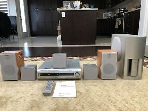 Sony C450 5-Disc DVD Amplifier Speakers Surround Theatre System