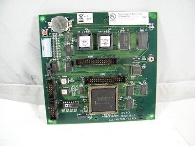 Gamewell Signal Systems Cpu Circuit Board 30867