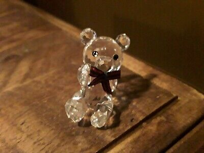 Swarovski Reclining Kris Bear Figurine