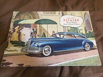 1946 1947 Packard Custom Clipper Original Prestige Brochure Catalog Prospekt, used for sale  Santee