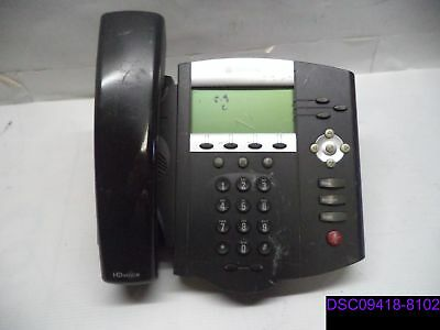 Qty 4 Polycom Soundpoint Digital Telephone No Standcord Ip450 2201-12450-001