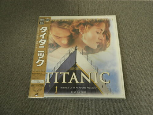 < Unopened > Titanic - Laser Disc - OBI JAPAN LD 2disc