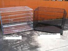 NEW XXL Collapsible Metal Dog Puppy Cage Crate with metal tray Kingston Logan Area Preview