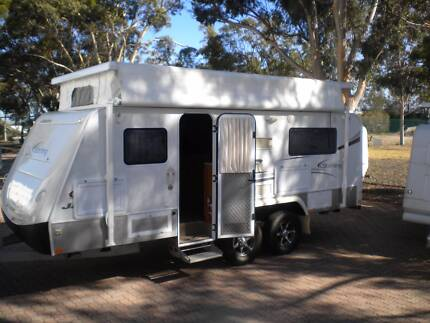 JAYCO STERLING OUTBACK 2010 19 FT SHOWER/TOILET COMBO POPTOP Northfield Port Adelaide Area Preview