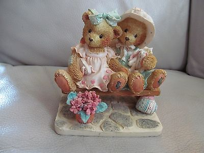 "Cherished Teddies - Tracie & Nicole, ""Side By Side With Friends"""