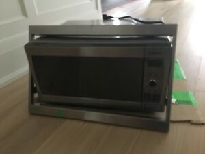 Panasonic microwave (plus trim).