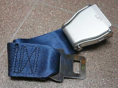 Universal Type A Airline Airplane Seat Belt Extender Safety Extension Usa Made