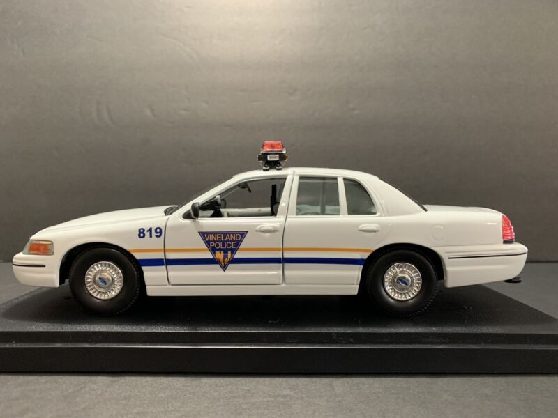 1/24 Vineland ,New Jersey Police FCV./// DECAL SET ONLY/// DECAL SET ONLY// READ
