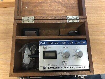 Rank Taylor Hobson Model Surtronic 3p Surface Profilometer 1121550