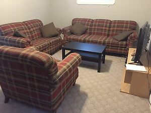 Sofa, love set and chair for sale