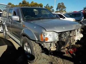 WRECKING 2004 NISSAN NAVARA D22 DUAL CAB 4X4  3.0L TURBO DIESEL MANUAL North St Marys Penrith Area Preview