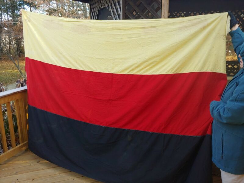 Vintage WW1 German Germany Flag