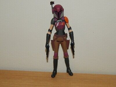 "STAR WARS REBELS SABRINE WREN 3.75"" ACTION FIGURE #1"