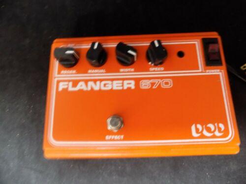 VINTAGE DOD Flanger 670 guitar pedal